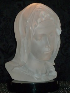 madonna della pieta acrylic