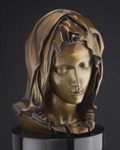 madonna della pieta bronze